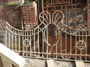 IRON GATES FENCES